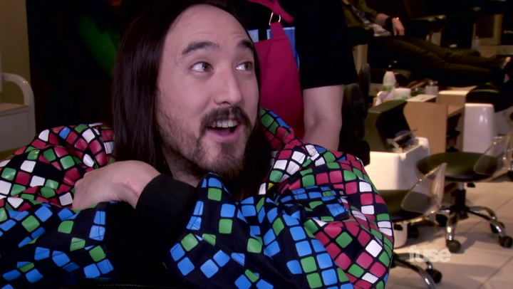 """'WGTS' Hosts Tell Steve Aoki What """"Truffle Butter"""" Really Is"""