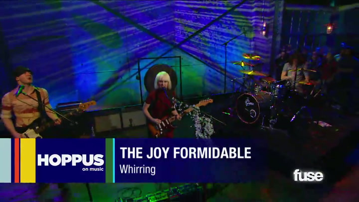 """Shows: Hoppus on Muisc:The Joy Formidable, """"Whirring"""":  Web Exclusive"""