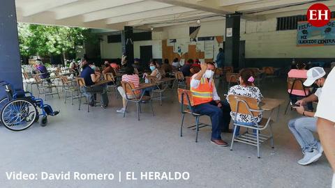 Honduras: Aplican segunda dosis de Pfizer en el Central Vicente Cáceres