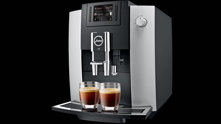Preview image of Jua E-6 Automatic Bean to Cup Coffee Machine.mp4 video