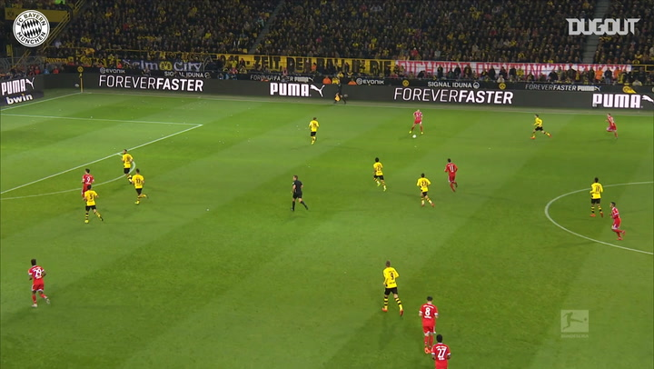 Incredible Goals: Robert Lewandowski Vs Dortmund