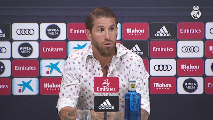 """Sergio Ramos: """"Mi sueño es retirarme en el Real Madrid"""""""