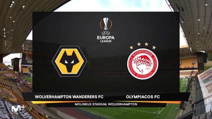 Europa League: Resumen y Goles del Wolverhampton-Olympiakos