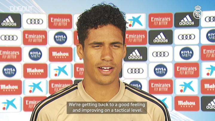 Varane: 'We're looking forward to competing'