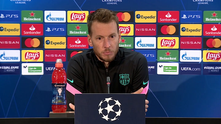 Neto Murara ha evitado pronunciarse sobre la reunión por los salarios del Barça con sus trabajadores