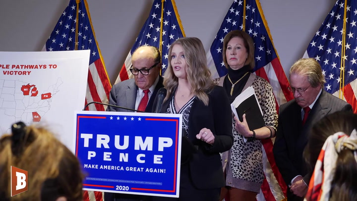 Trump's Legal Adviser Jenna Ellis Rips Media: