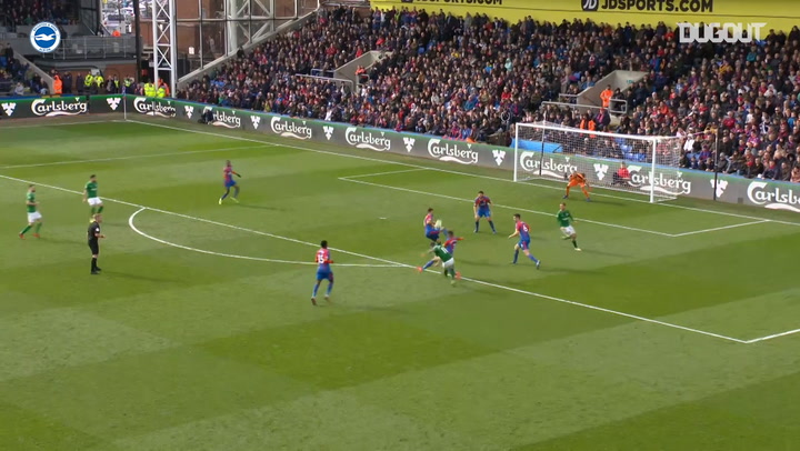Brighton's best goals vs Crystal Palace
