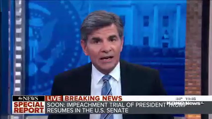 Stephanopoulos: John Bolton's Draft Manuscript a 'Seismic Shock'