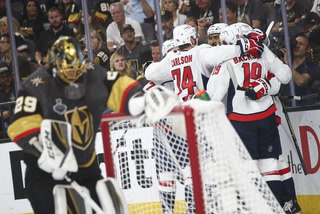 Golden Edge: Knights Fall 3-2 Against Capitals In Game Two