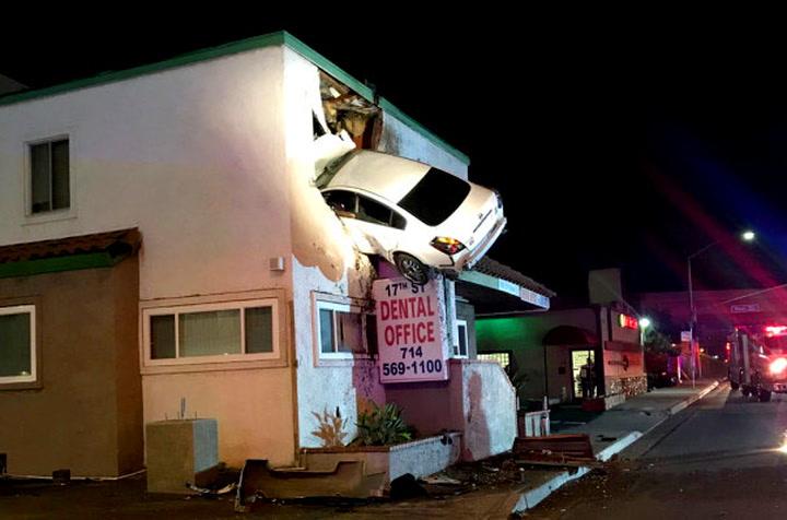 Sjåfør endte turen hos tannlegen – i andre etasje