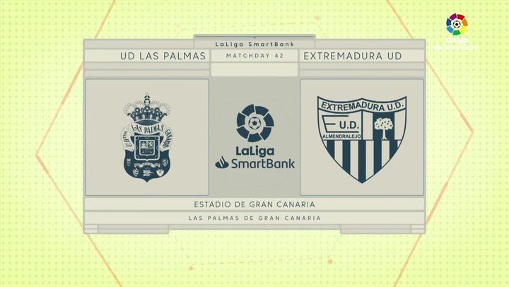 LaLiga Smartbank (Jornada 42): Las Palmas 5-1 Extremadura