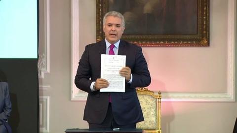 Colombia inicia regularización de cerca de un millón de migrantes venezolanos