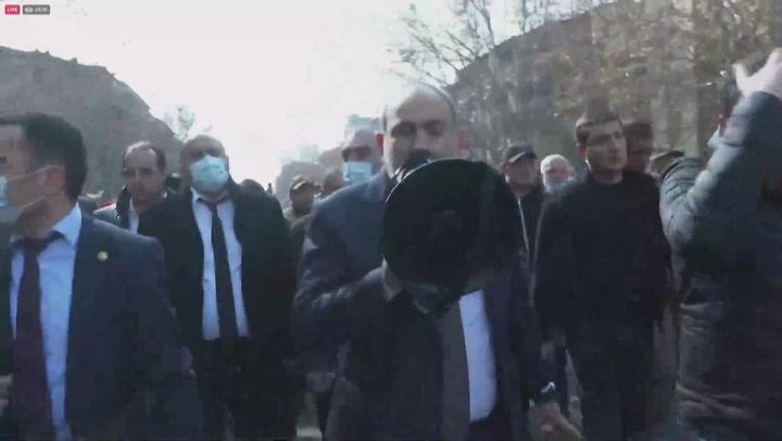 El primer ministro de Armenia denuncia intento de golpe de Estado