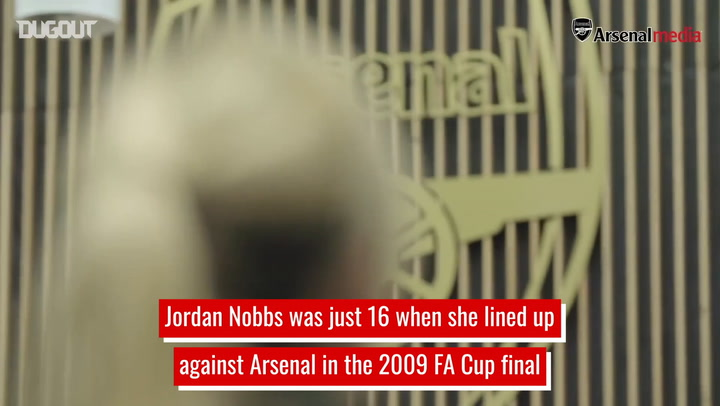 Jordan Nobbs' decade with Arsenal Women