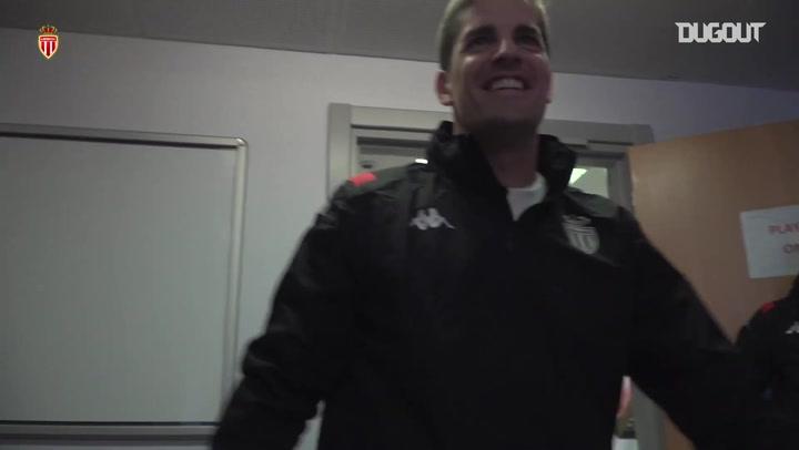 Robert Moreno's first day as AS Monaco head coach
