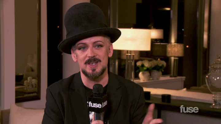 Interviews: Boy George on Channeling Britpop Icons the Verve on New Album