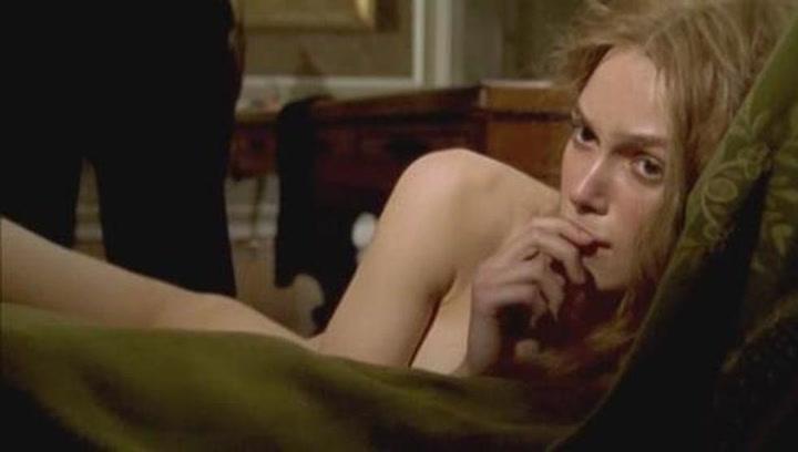 Las escenas más comprometidas de Keira Knightley en el cine