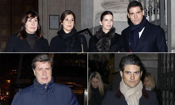 Las emotivas palabras de despedida de la familia y los amigos de Carmen Franco en su funeral