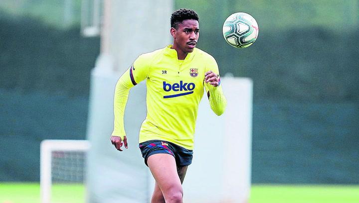 El Barça se ejercitó en la Ciutat Esportiva de Sant Joan Despí