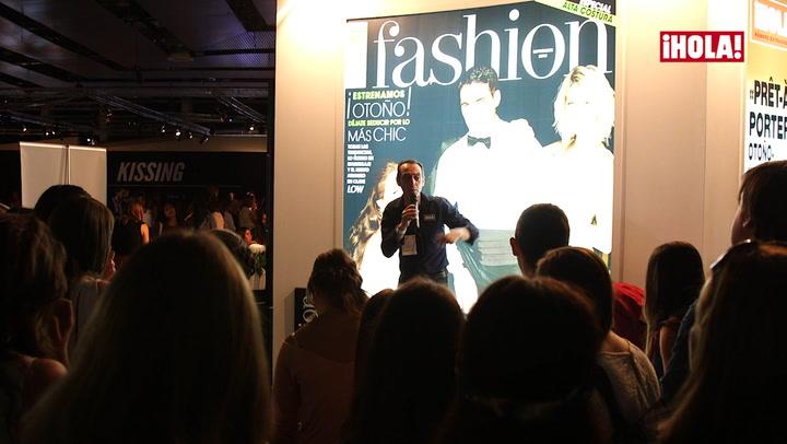 ¡En el stand de ¡HOLA! aprendimos a posar como las \'top model\'!