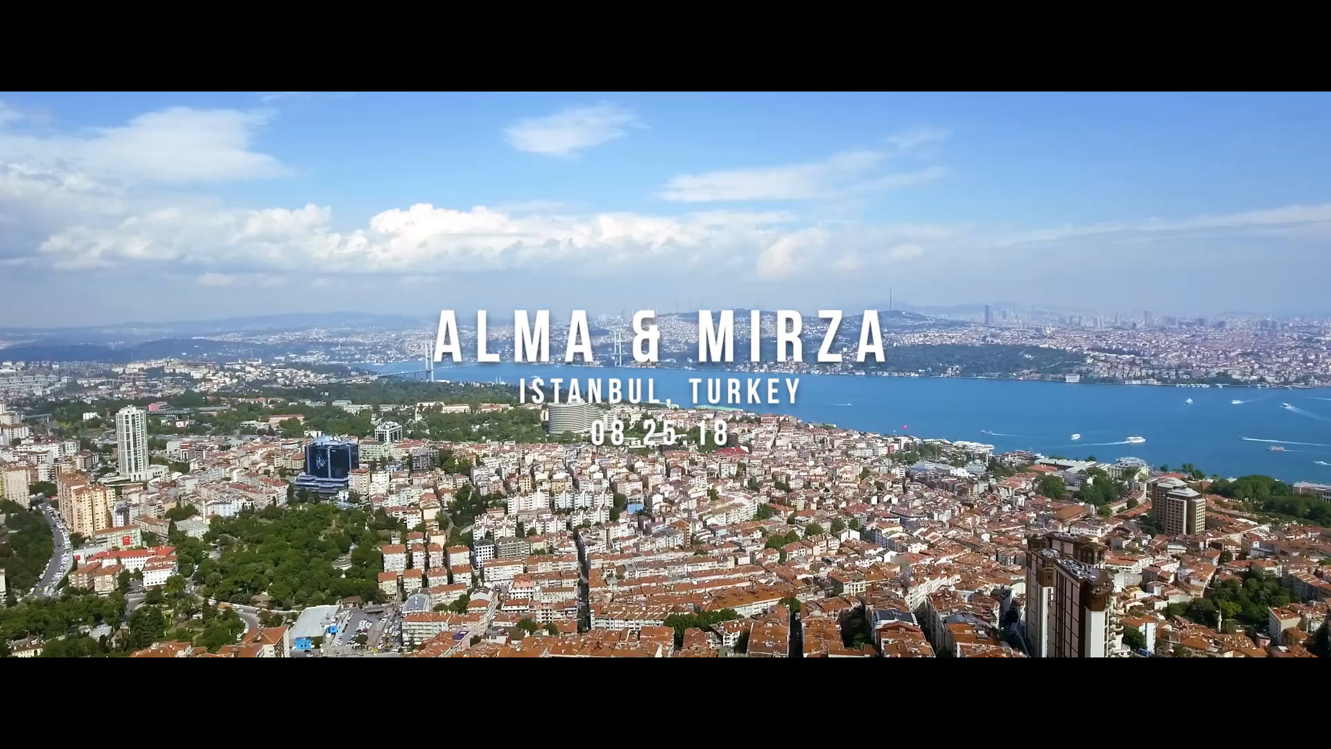 Alma + Mirza | Istanbul, Turkey | Turnatour Ship