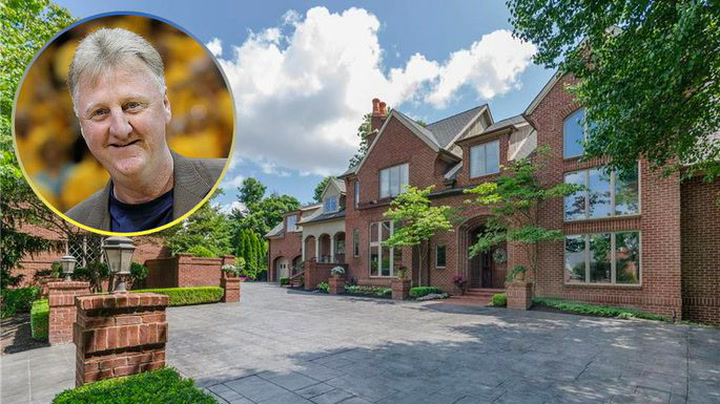 Inside Basketball Legend Larry Bird's Massive Indiana Estate for Sale