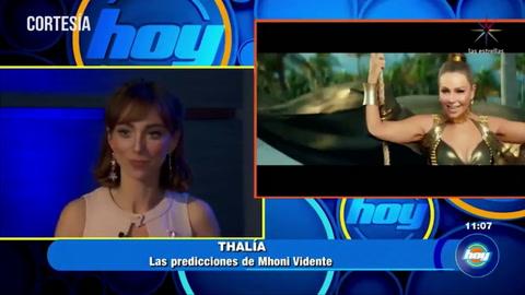 Mhoni Vidente realiza impactante predicción sobre Thalía y Tommy Mottola