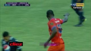 ¡Jerrick Díaz descuenta, pero Motagua sigue venciendo a UPNFM en el Nacional!
