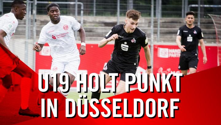 U19-Highlights gegen Fortuna Düsseldorf
