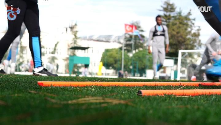 Trabzonspor'un Yeni Malatyaspor Hazırlıkları Devam Ediyor