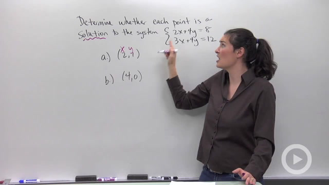 Introduction to Systems of Equations - Problem 1