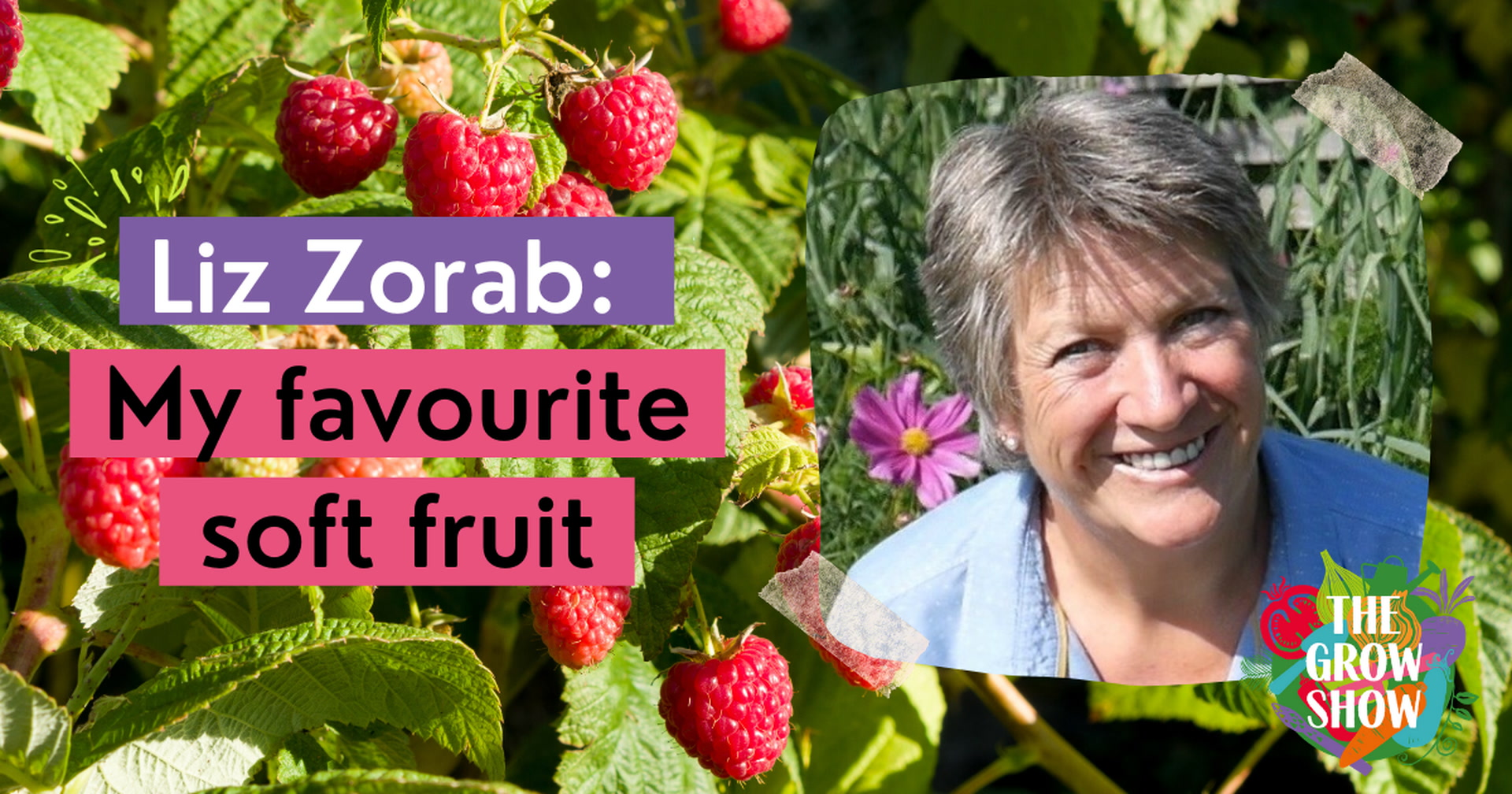 Liz Zorab: My favourite soft fruit