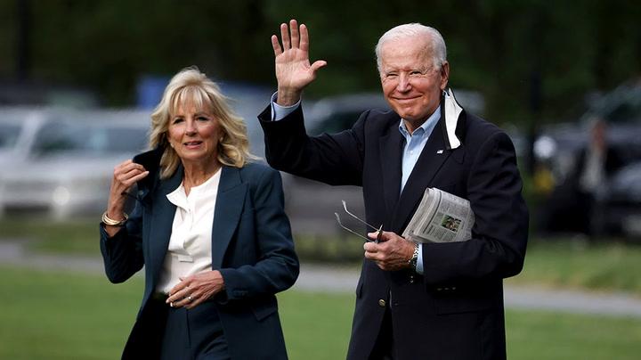 Watch live as President Biden arrives in UK for G7 Summit