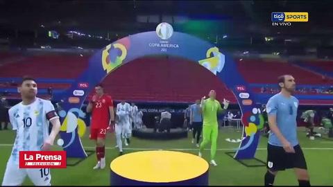 Argentina 1 0 Uruguay (Copa América)