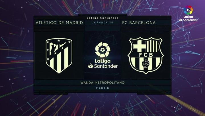 Atlético de Madrid - FC Barcelona J15