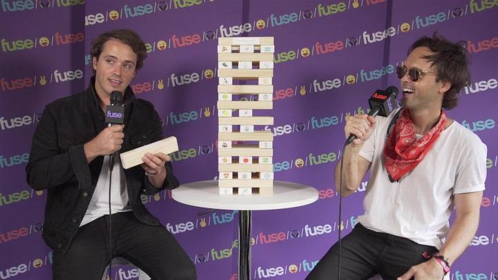Atlas Genius Play Emoji Tower, Talk New Single 63 Days: Lollapalooza 2017