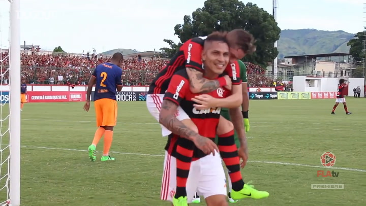 Paolo Guerrero's best Flamengo moments