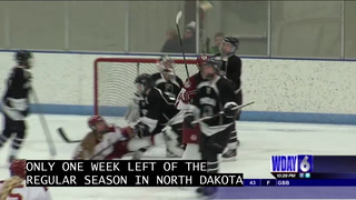 Davies downs Mandan in girls hockey