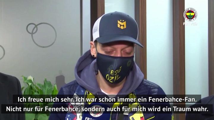 """Özil nach Wechsel: """"Ein Traum wird wahr!"""""""