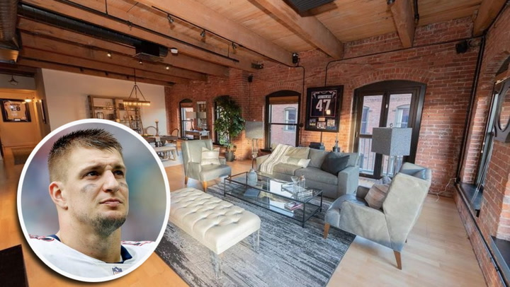 Rob Gronkowski Passes His $2.3M Boston Condo to a New Owner