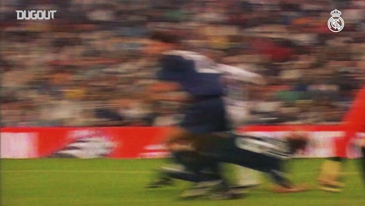 Raúl's goals in LaLiga during the 2000-01 season - Part I