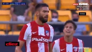 Carrasco marca golazo ante el Cádiz del Choco Lozano por el Trofeo de Carranza