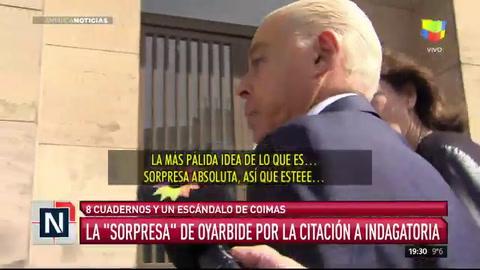 Oyarbide: Todo esto es una calumnia