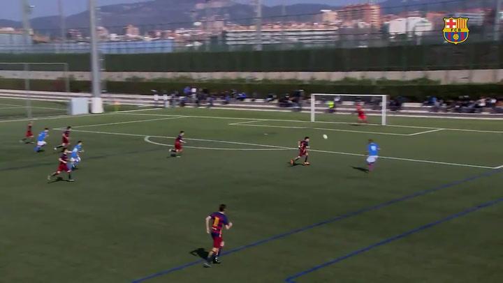 Arnau Tenas, otra perla del Barça que renueva