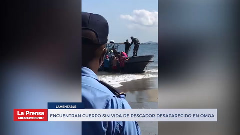 Encuentran cuerpo sin vida de pesacdor desaparecido en Omoa