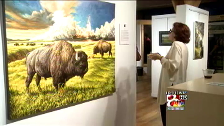 Art and Food Combined At Perlow-Stevens Gallery