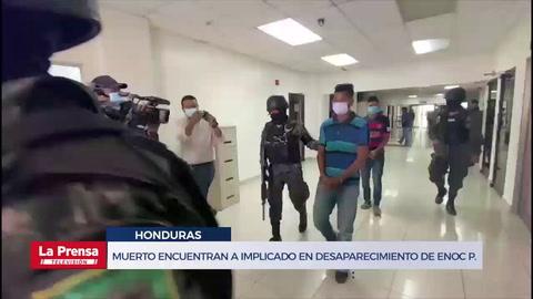 Muerto encuentran a implicado en desaparecimiento de Enoc Pérez