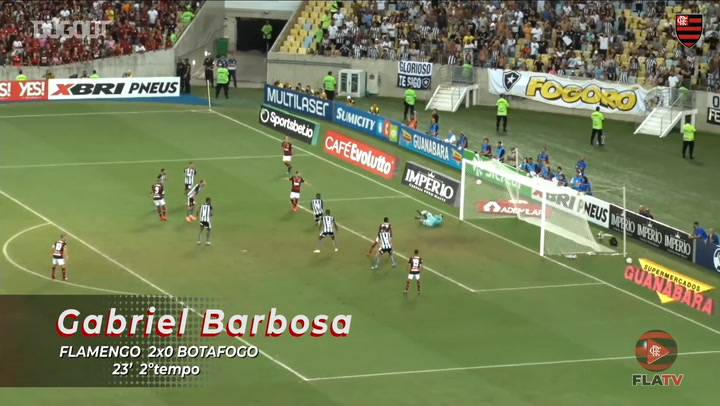 Gabriel Barbosa's Flamengo goals in 2020 so far