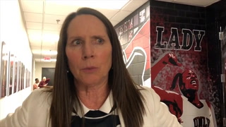 Kathy Olivier talks about the win over Grand Canyon