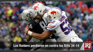 Vegas Nacion: Los Raiders pierden contra Bills 34-14